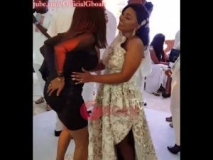 Video: Iyabo Ojo Steals The Show As She Dances Her Heart Out At Mercy Aigbe